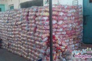 شرطة الشلاتين تتمكن من إحباط عملية تهريب للأرز الى السودان وضبط 23.5 طن من الأرز بدون فواتير