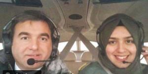 أول محجبة تقود طائرة حربية في تركيا