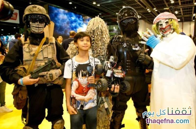 كوميك كون في السعودية Comic Con Festival