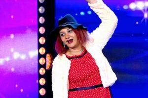 المتسابقة المصرية أماني صابر تصدم لجنة التحكيم بتقليدها لسعاد حسني في عرب قوت تالنت 2017