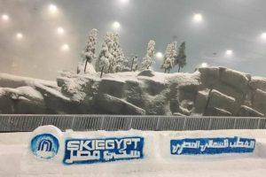 سكاي مصر القطب الشمالي المصري – أول مدينة ثلجية في مصر – بالصور