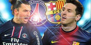 فوز برشلونة على باريس سان جيرمان