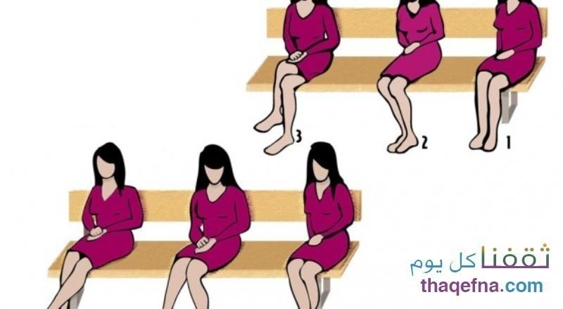 وضعيات الجلوس