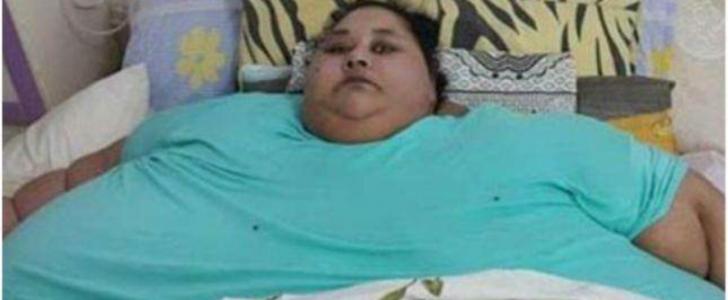 أسمن امرأة في العالم من العلاج في الهند الى العلاج في العاصمة الإماراتية أبو ظبي