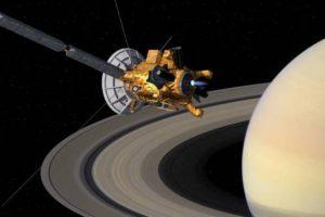 جوجل يحتفل بمرور مركبة كاسيني Cassini Huygens بين زحل وحلقاته إنجاز تاريخي جديد لناسا اليوم الأربعاء 26-4-2017