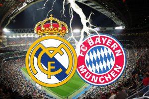 لقاء العمالقة في مباراة ريال مدريد وبايرن ميونخ فى دورى أبطال أوروبا لعام 2017