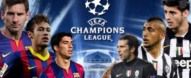 موعد مباراة برشلونة ويوفنتوس الأربعاء 19-4-2017 بدوري الأبطال والقنوات المفتوحة الناقلة للمباراة