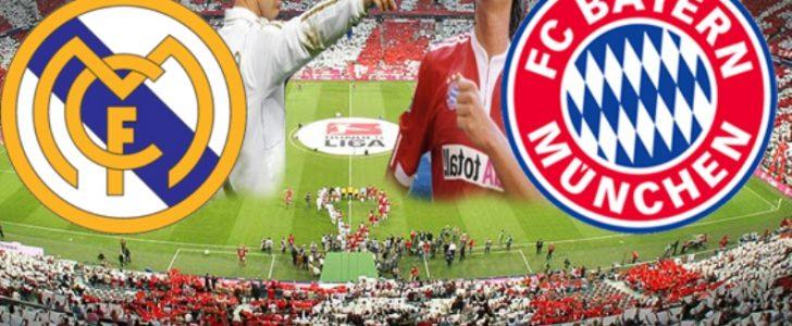 موعد مباراة ريال مدريد وبايرن ميونخ الثلاثاء 18-4-2017 والقنوات الناقلة للمباراة