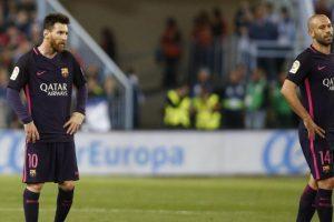 الحظ يعاند برشلونة مرة أخرى وخسارته أمام فريق مالاجا الأسباني