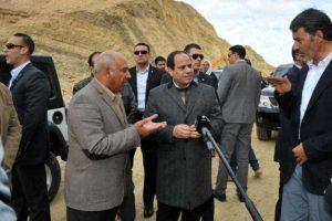 تفقد الرئيس عبد الفتاح السيسي صباح اليوم الأربعاء مشروع تنفيذ أنفاق قناة السويس بالإسماعلية