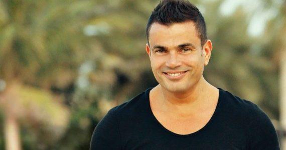 شاهد بالفيديو خناقة بين صحفي ومذيعة حول زواج الفنان عمرو دياب بالفنانة دينا الشر بيني