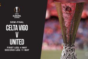 موعد مباراة مانشستر يونايتد الإنجليزي وفريق سيلتا فيجو الإسباني اليوم الساعة التاسعة وخمسة