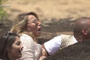 شاهدوا حلقة ايناس الدغيدي رامز تحت الأرض مع الفنان رامز جلال بالفيديو