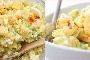 طريقة عمل سلطة البطاطس مع الكرفس والبيض – طريقة إعداد أزكى المقبلات !