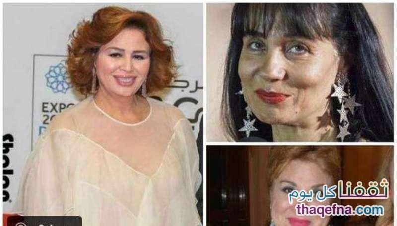 إلهام شاهين وسحر رامي وفادية عبد الغني - 55 سنة