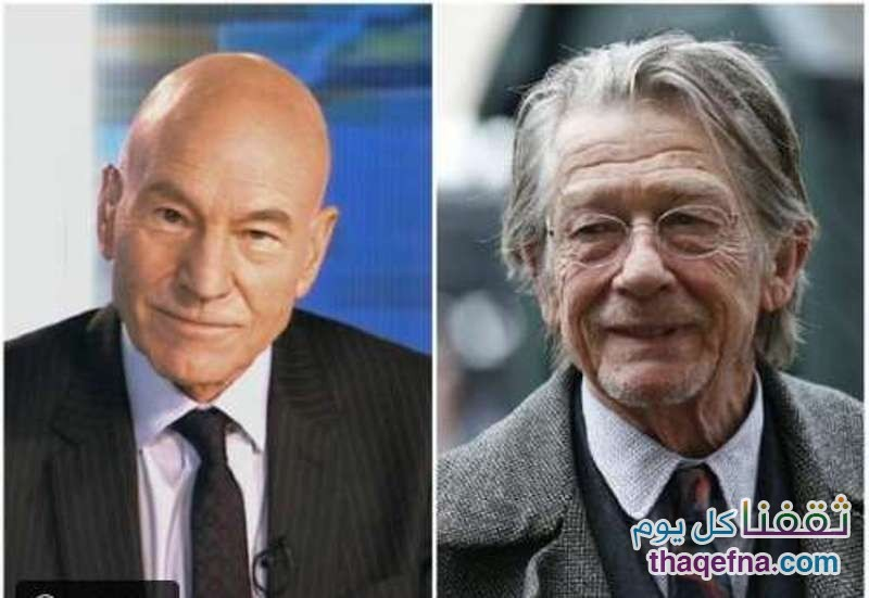 باتريك ستيوارت وجون هارت - 76 سنةباتريك ستيوارت وجون هارت - 76 سنة