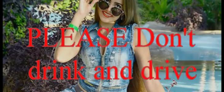 شاهدوا بالفيديو بث مباشر لمصرع ملكة جمال المراهقين صوفيا ماجيركو وهي توثق مصرعها أثناء قيادة السيارة بسرعة جنونية