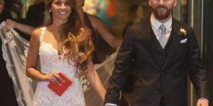زفاف اللاعب الأرجنتيني ليونيل ميسي