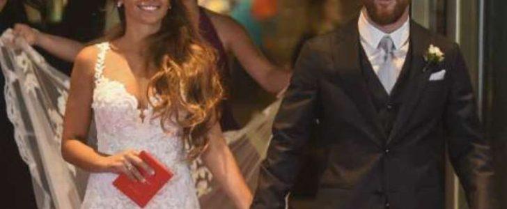 شاهدوا معنا بالصور أبرز النجوم والمشاهير في حفل زفاف اللاعب الأرجنتيني ليونيل ميسي على صديقته أنتونيلا