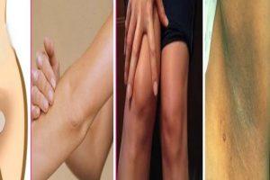 تفتيح الأماكن الداكنة في الجسم بثلاثة وصفات طبيعية وبنتائج سريعة ومضمونة !