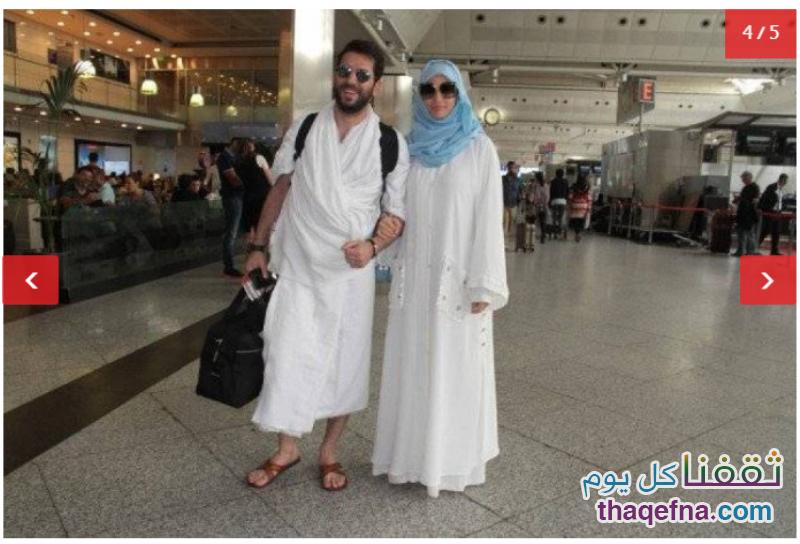 زوجة مراد يلدريم مرتدية الحجاب