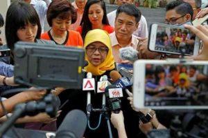 حليمة يعقوب أول رئيسة للبلاد في سنغافورة وهي المرشحة الوحيدة والمؤهلة لهذا المنصب !