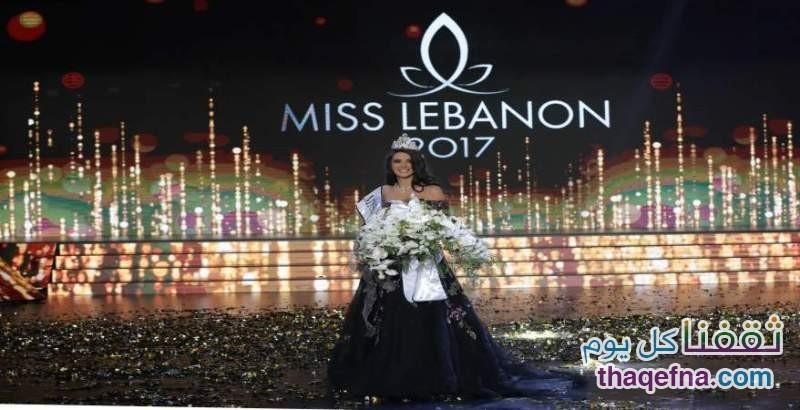 صور بيرلا حلو ملكة جمال لبنان لعام 2017