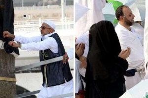 شاهدوا بالصور ضيوف الرحمن في الحج وعلى صعيد عرفات و كسوة الكعبة الجديدة !!