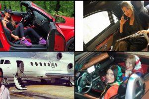 شاهدوا بالصور حياة الرفاهية لأبناء أثرياء في إيران من طائرات وسيارات ويخوت خاصة !