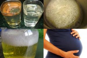 طريقة عمل فحص الحمل بالكلور والملح في المنزل وبدون الحاجة للفحص الطبي ! فيديو