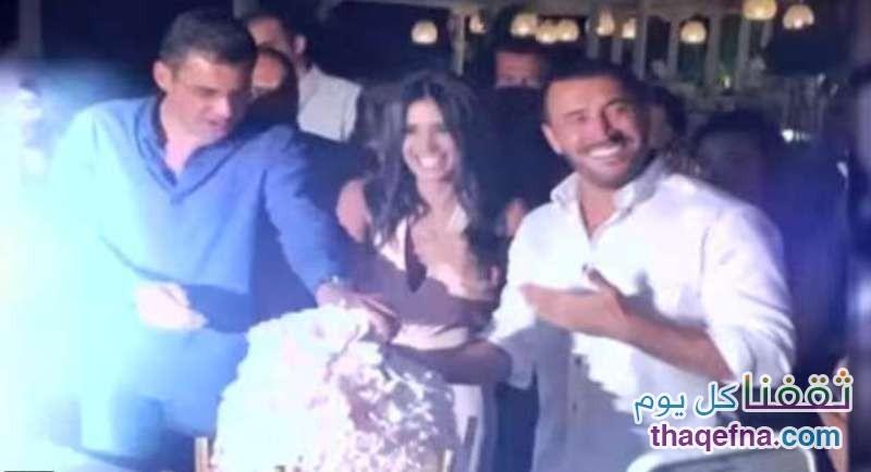 تكرار ظهوره مع المذيعة اللبنانية أثار الشكوك حول ارتباطهما
