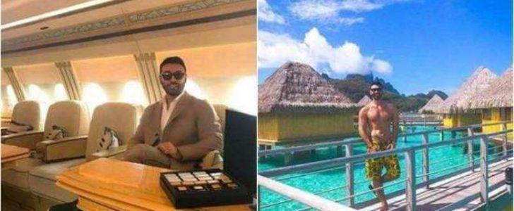 شاهدوا بالصور شاب سعودي ثلاثيني فاحش الثراء ووسيم يثير ضجة على مواقع التواصل الإجتماعي !