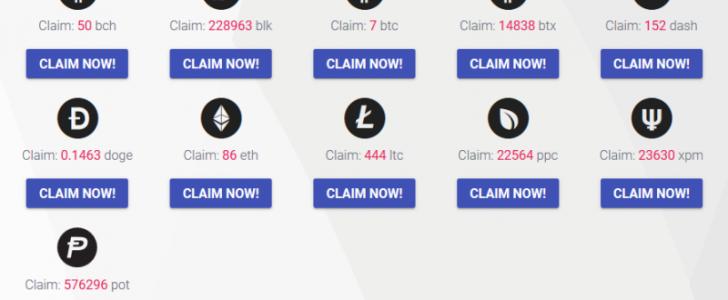 الربح من الإنترنت بصنبور جديد مجاني لتجميع العملات الإلكترونية البيتكوين والدوجكوين والليتكوين !