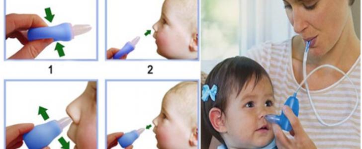 طرق آمنة لتنظيف أنف الأطفال الصغار